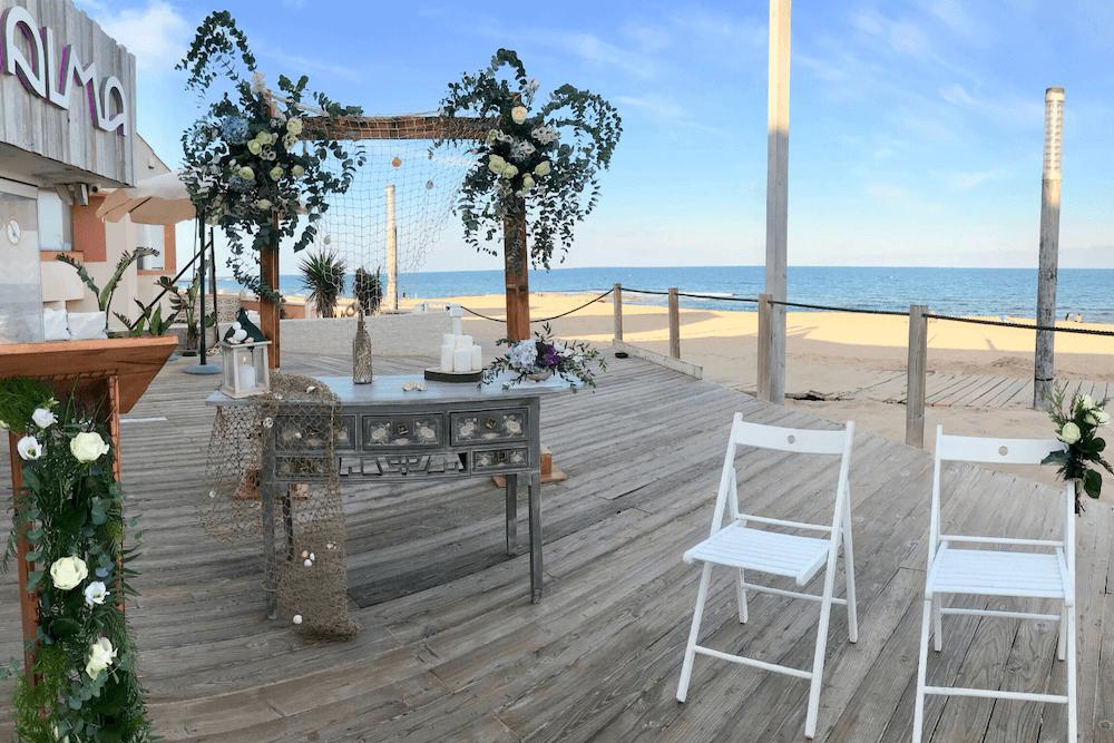 Flores para Ceremonia en la Playa