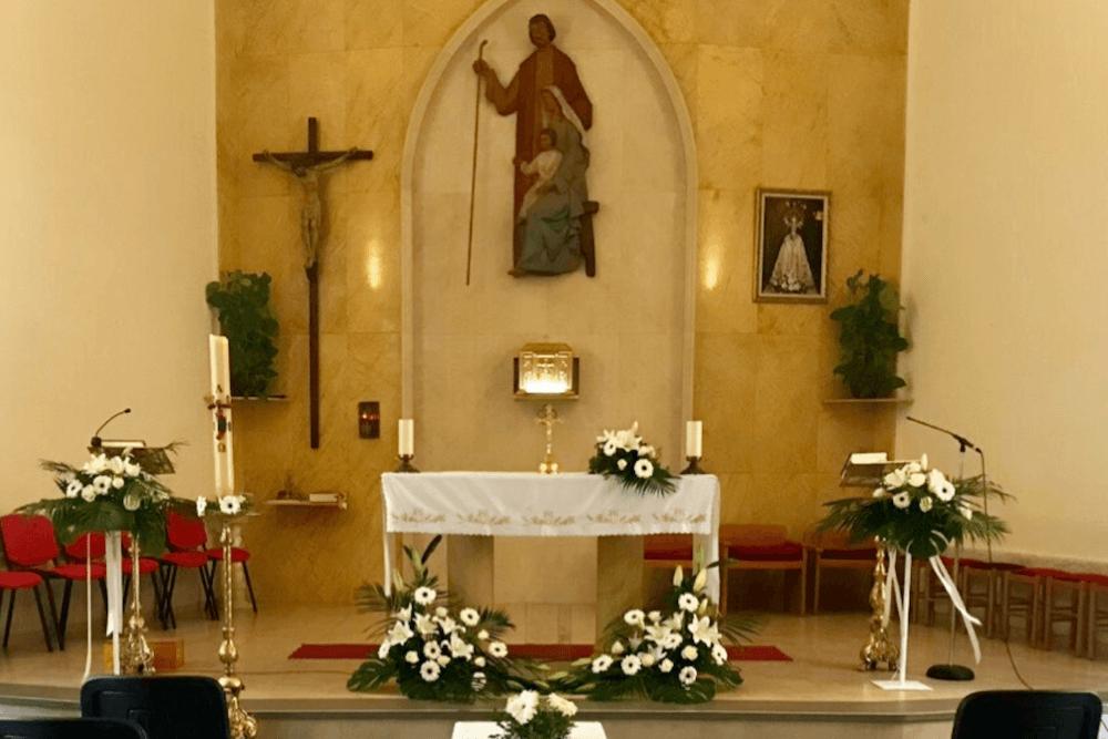 Decoración Floral Iglesia
