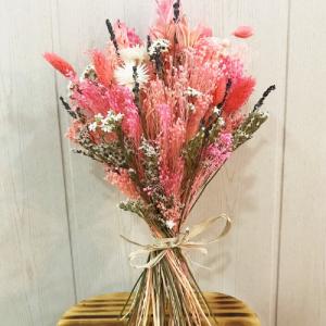ramo preservado rosa