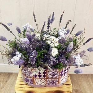 caja flores preservadas