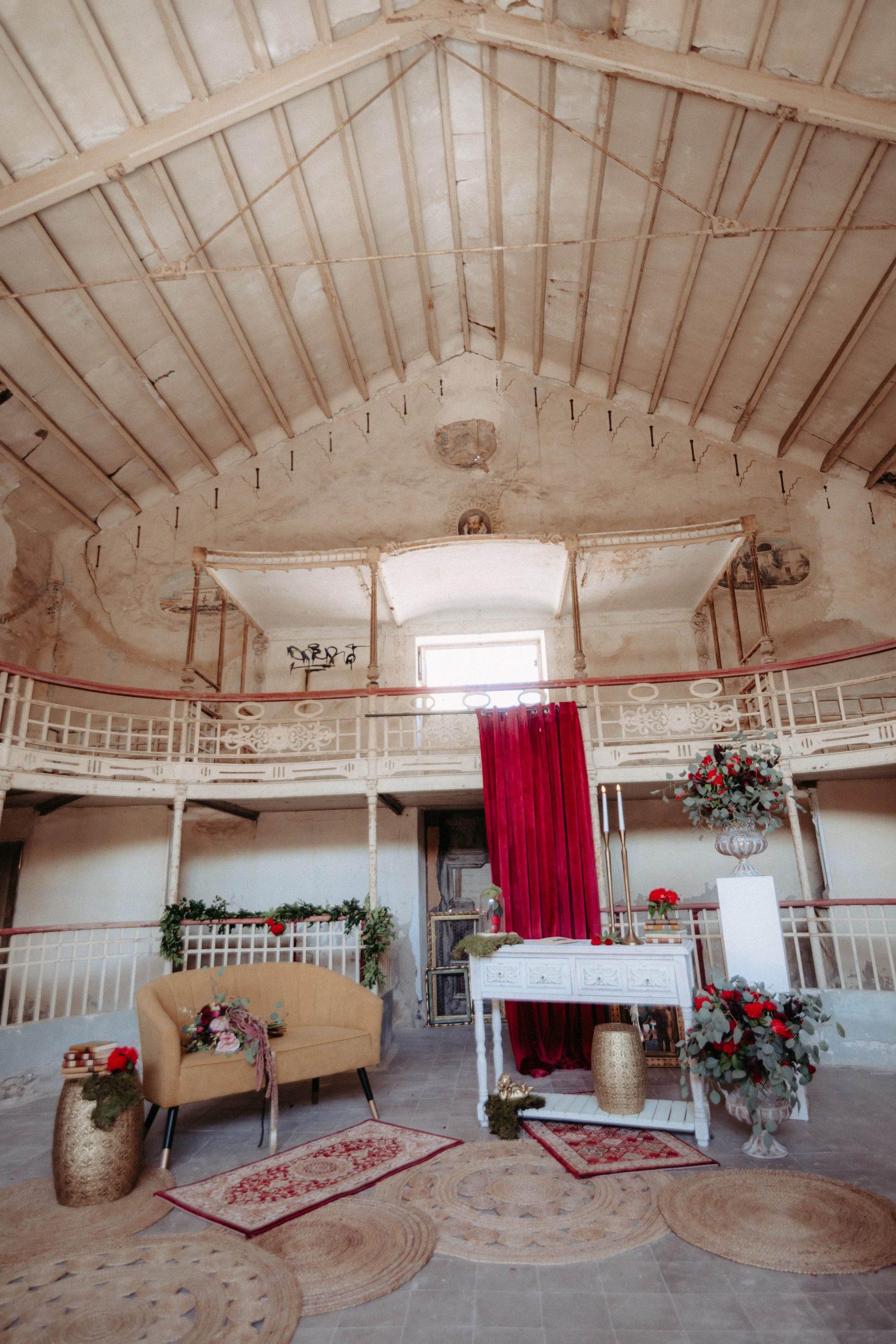 boda romántico gótico