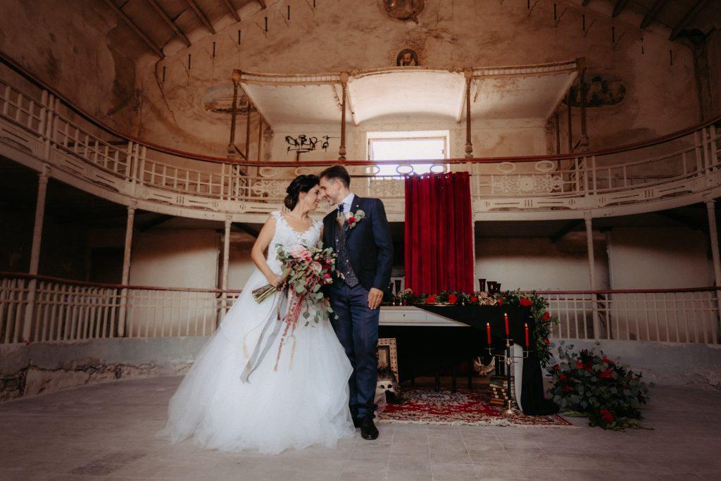 boda romántica-gótica