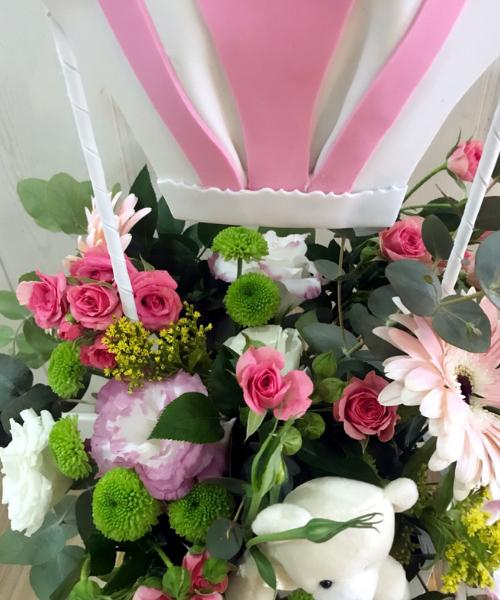 regalo para bebe rosa